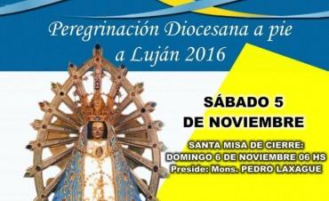 Palabras de Monseñor Pedro Laxague: Invitación a la 38° Peregrinación a pie a Luján