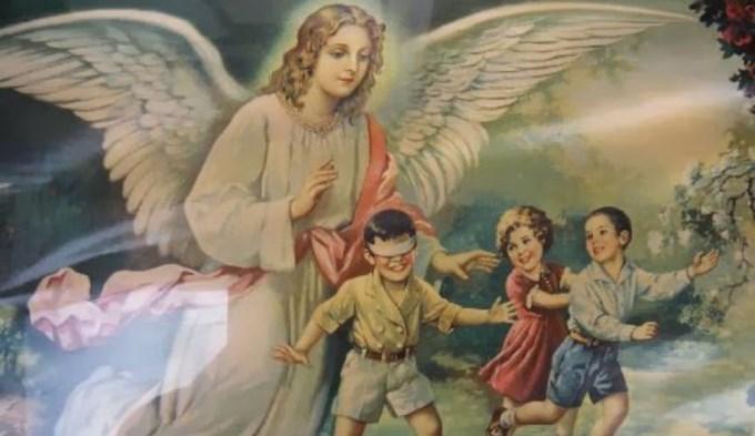 La iglesia recuerda hoy a los santos Ángeles Custodios (o Ángeles de la Guarda).