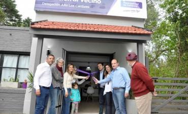 Los vecinos del corredor de la Ruta 4 cuentan con una nueva oficina del CeMAV