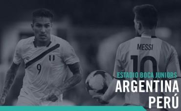 La Selección Argentina recibe a Perú