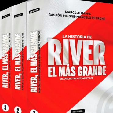 """Se presentará en Campana el libro """"River Plate, el más grande"""""""