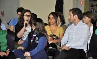 El Municipio participó de una jornada sobre inclusión laboral en la Casa Esperanza