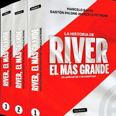 El libro River Plate, el más grande se presentará el sábado en Campana