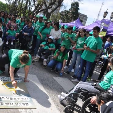 La comunidad celebraron el Día Mundial de la Parálisis Cerebral
