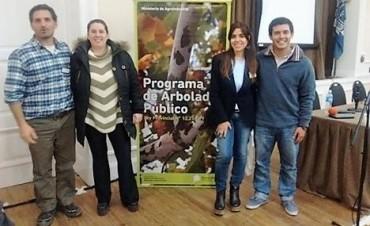 Personal municipal del área de Arbolado participó de una importante capacitación