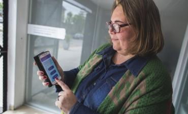 Buzzini destacó la importancia de la app Alerta Campana para denunciar delitos y emergencias