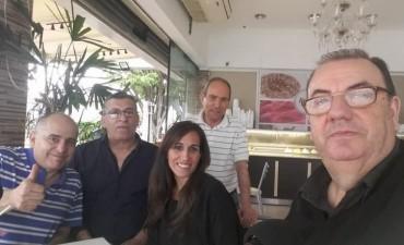 Segundo bloque desde Koval con los candidatos del Frente Justicialista Cumplir