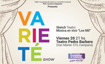 Varieté Show llega este viernes al Pedro Barbero