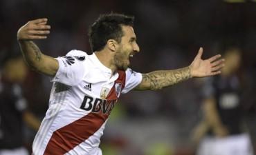 River Plate le ganó a Lanús 1 a 0 por la semifinal de ida de la Copa Libertadores