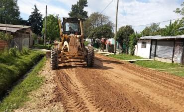 En La Josefa, se continúan realizando importantes trabajos de mantenimiento