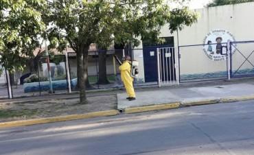 Zoonosis refuerza el operativo de fumigación contra la