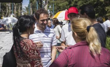 """Abella: """"Los vecinos nos dieron un apoyo clave para seguir cambiando Campana"""""""