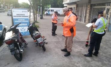 Secuestran 20 motos durante un operativo en la zona del Campito de Siderca