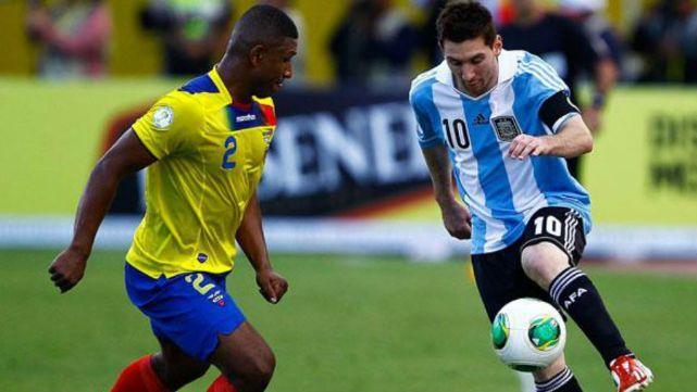 Argentina visita a Ecuador en la última fecha de las eliminatorias CONMEBOL
