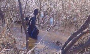 Comunicado oficial sobre el cuerpo hallado en el río Chubut