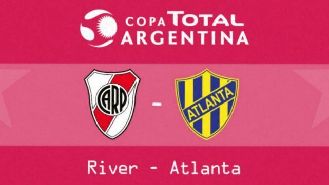 River y Atlanta buscan la semi de la Copa Argentina