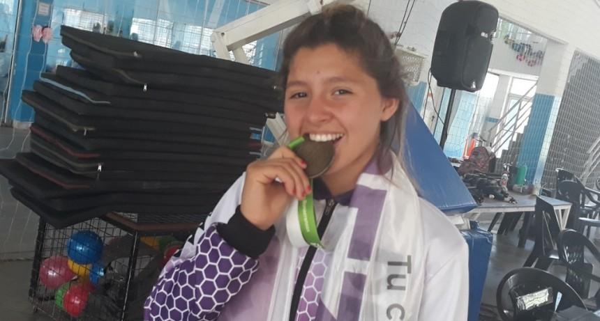 Roxana García, la primera campanense en lograr una medalla de oro en los Juegos Bonaerenses