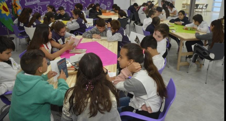 Más de 100 alumnos participaron de la Maratón de Lectura en el Centro Educativo Municipal
