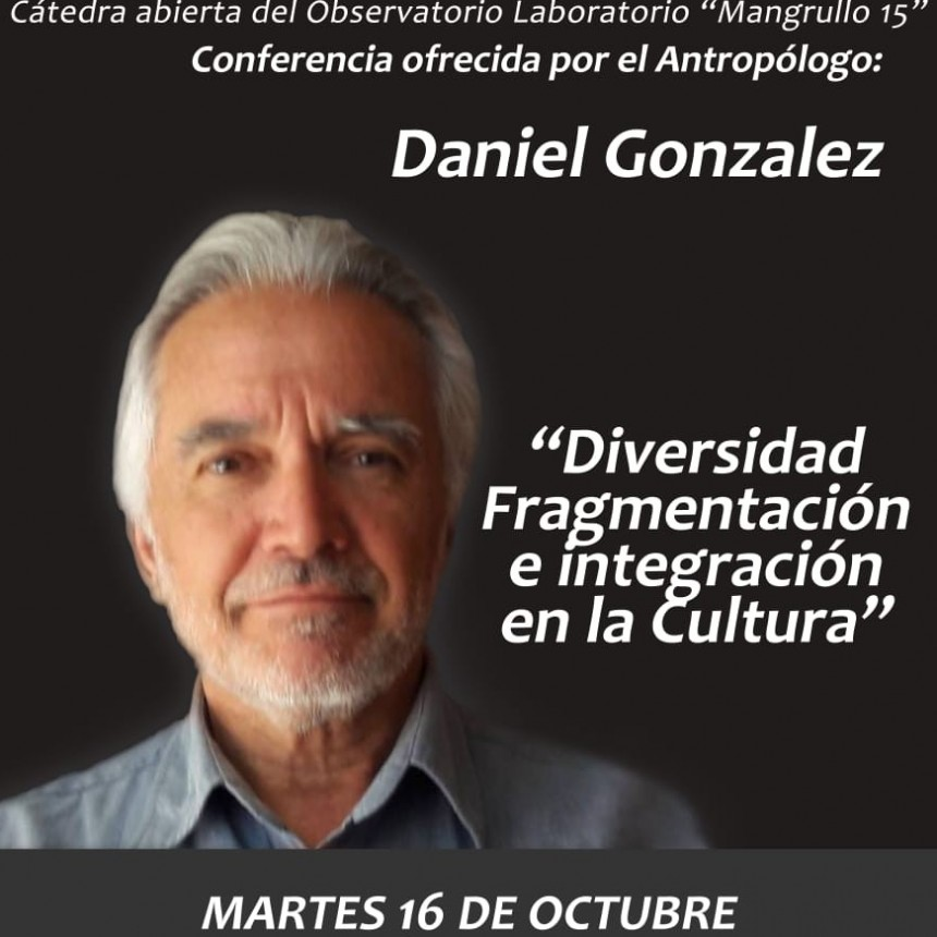 Daniel González llega hoy al Instituto Nº 15 para brindar una charla