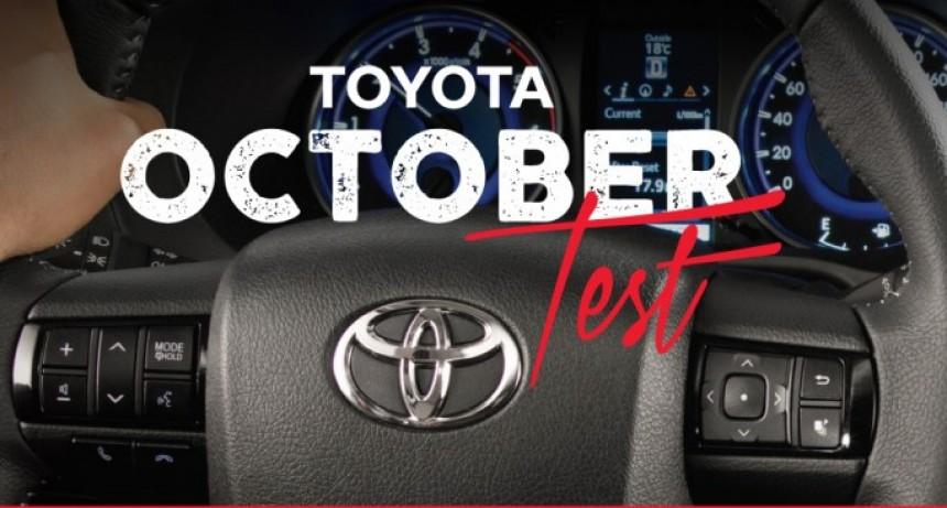 """Llega el """"October Test"""" para vivir la experiencia Toyota"""
