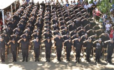 Egresaron 125 efectivos de la Escuela de Policía Descentralizada de Campana