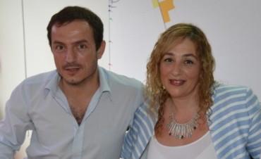 Abella presentó a su secretaria de Cultura y Educación