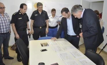 El Intendente anunció la creación de nuevas cuadrículas del Comando Patrulla para reforzar la seguridad