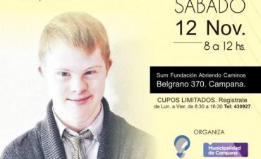El sábado brindarán una charla informativa para padres sobre Síndrome de Down