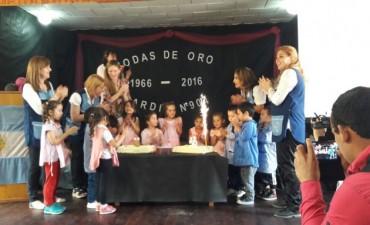 El jardín de infantes N°904 de islas celebró sus Bodas de Oro