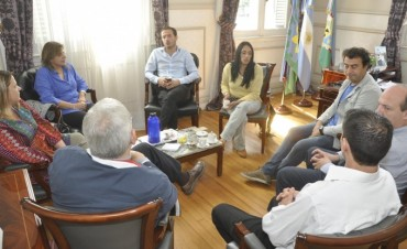 El Intendente manifestó su interés de que el CBC llegue a Campana