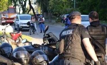 Se realizó un mega operativo de seguridad y prevención ciudadana en diversos puntos de la ciudad