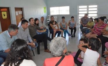 El Intendente se volvió a reunir con los padres de los alumnos del Jardín N° 924