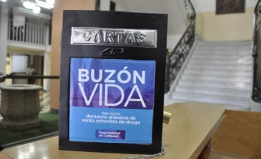 El Intendente presentó otras seis denuncias realizadas por vecinos a través del Buzón Vida