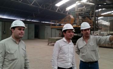 El Intendente visitó la empresa Cormela