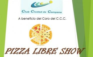 Pizza Libre Show en el Club Ciudad de Campana