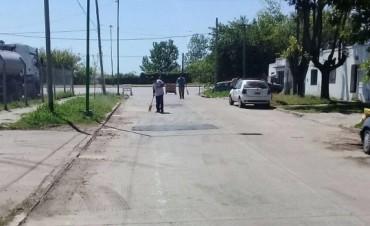 Reabren el tránsito en la intersección de Bertolini y Martín Rodríguez