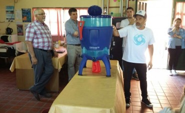 "Se presentó el ""Proyecto Agua Segura"""