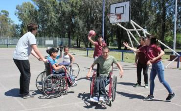 Jóvenes con discapacidad participaron de un Encuentro Integrador Deportivo