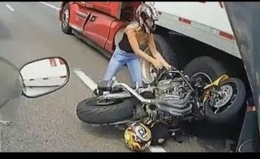 El peligro de los motociclistas