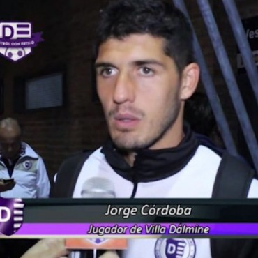 Jorge Còrdoba: con sus dos goles asegurò los tres puntos