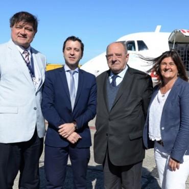 Verano 2018 Mar del Plata: llegó el primer vuelo de Avianca