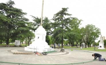 """El tradicional """"Árbol de Navidad"""" se emplazará en el centro de la Plaza """"Dr. Eduardo Costa"""""""