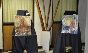 """Se presentaron las obras de la Muestra """"Nueve lunas"""" en el Salón """"Ezio Mollo"""""""