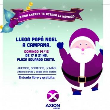 AXION energy invita a celebrar la Navidad en familia