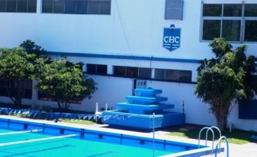 El sábado hay competencia de natación en el CBC y la pileta estará cerrada.