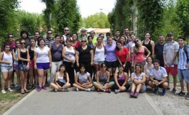 Última reunión de profesores y ayudantes de la Colonia Integradora Municipal de Verano