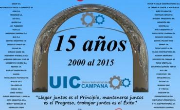 El Presidente de la U.I.C Fernando Borgognoni nos cuenta sobre el festejo de los 15 años de la Instituciòn