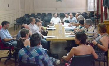 Reunión de los Concejales con la futura composición del HCD
