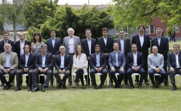 María Eugenia Vidal presentó a su gabinete