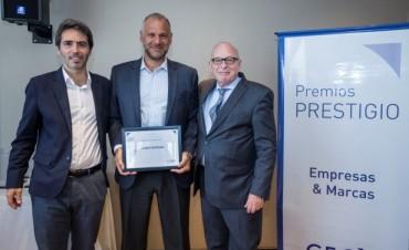 """Grupo Newsan fue reconocido en los Premios Prestigio """"Empresas & Marcas"""""""